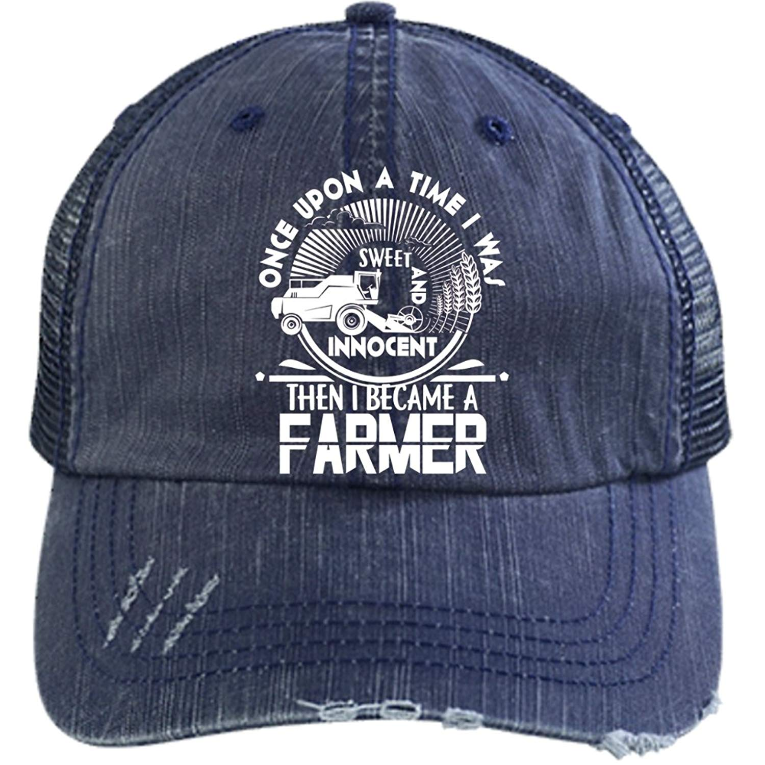 9c2e37a8983 Get Quotations · Then I Became A Farmer Hat