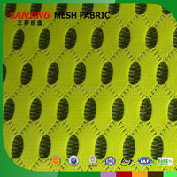 Fashion polyester Nylon air mesh fabric for motorcycle seat cover mattress