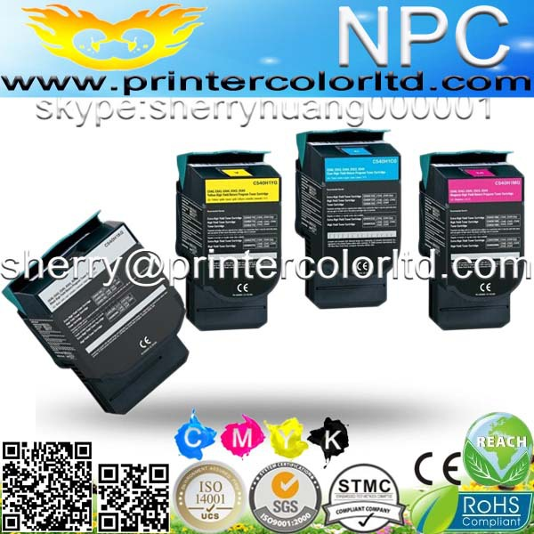 npc-c544) Compatible Toner Printer Cartridge For Lexmark C 540 543 ...