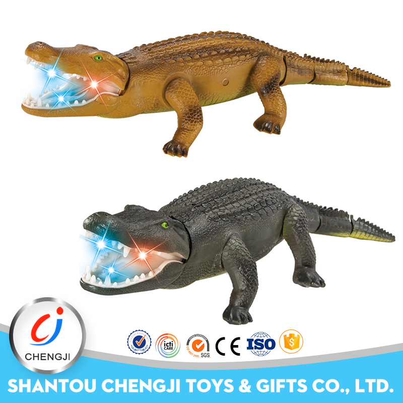 High quality new novelty monster electric cartoon crocodile toy