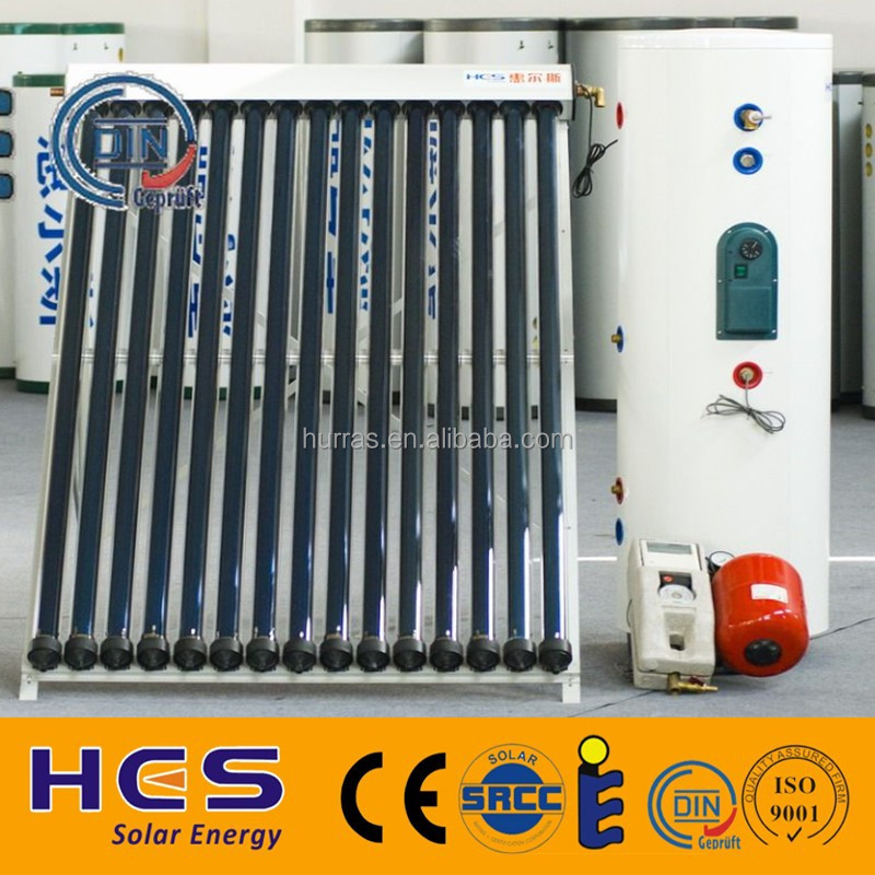 Completely Solar Hot Water System With Water Tank,Solar Collector ...