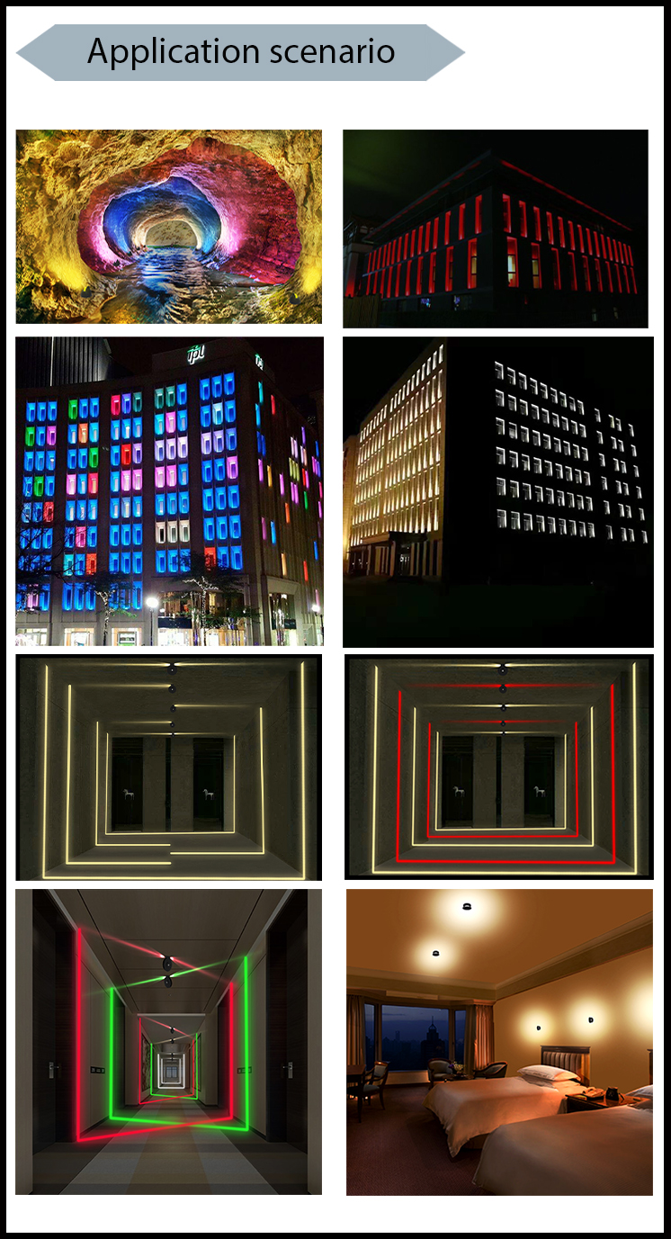 360 Degree RGB IP65 commercial led border light control window light