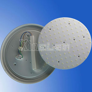 18W 200mm waterproof Magnetic round LED ceiling light fittings