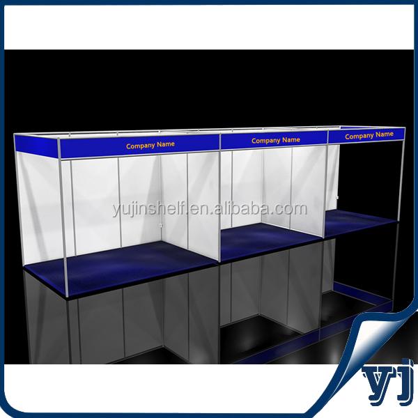 9x2 Aluminum Exhibition Booth Stand,Aluminum Extrusion Trade Show ...