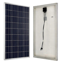 100W 18V Solar Panel High Efficiency for Home RV Yacht Boat Marine