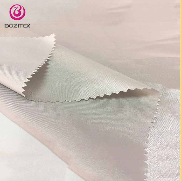 Stretch royal satin/cheapest white shiny satin fabric for garment