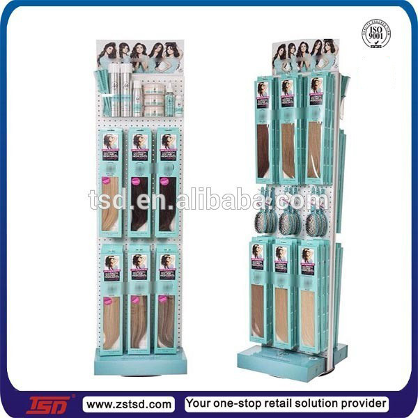 Tsd m931 custom doubled sided metal rotating pegboard display tsd m931 custom doubled sided metal rotating pegboard display standhair accessories display stand pmusecretfo Images