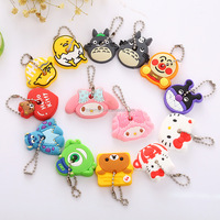 Professional oem rubber key cover/cute key cap