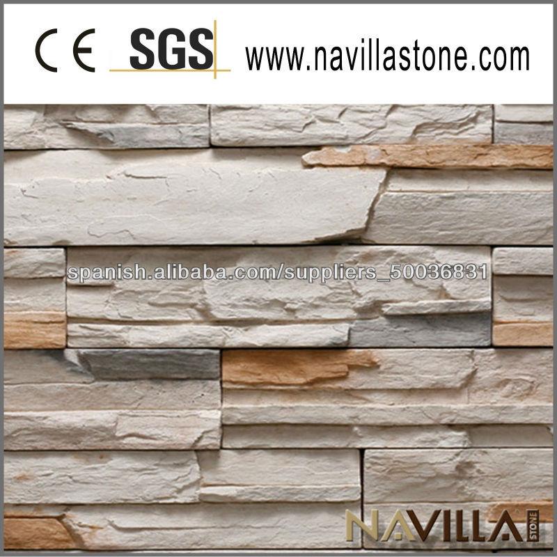 Piedra falsa para pared de piedra artificial cultura de - Paredes de piedra artificial ...