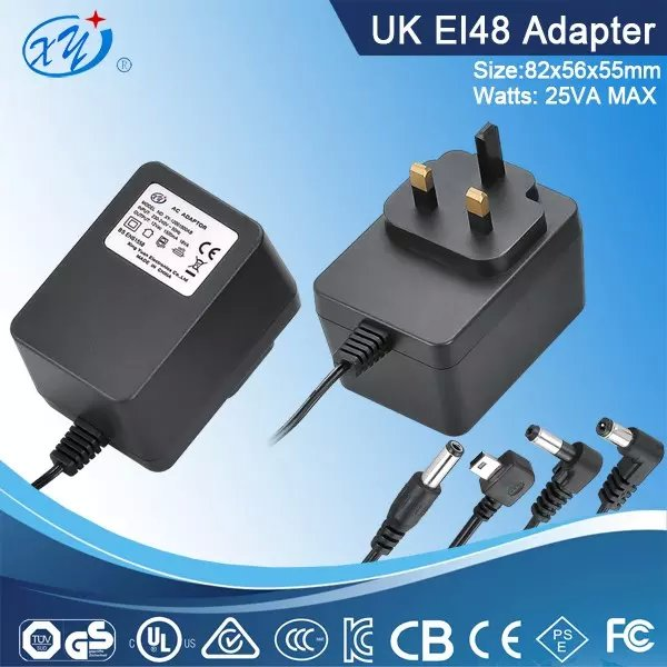 25W AC to AC linear adapter plug in power supply for led lights with BS approval