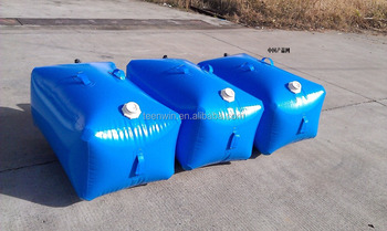 Hot Sell Pvc Water Storage Tank Custom Collapsible Water Bladder
