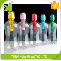 Take away tea cup with filter/ plastic drinking water bottle/ plastic sport water bottle