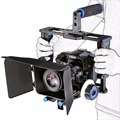 YELANGU Professional High Quality Stabilizer DSLR Camera Cage Kit With Follow Focus+Matte Box