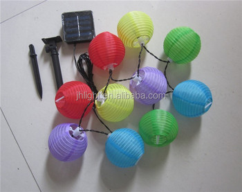 Illuminazione Esterna Lanterna : Solare lanterne cinesi cina ha condotto la luce di illuminazione per