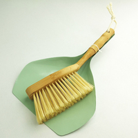 High Quality Eco-friendly Home Cleaning Dustpan Brush Set, Household Table Shovel & Sweeping Bamboo Brush Set