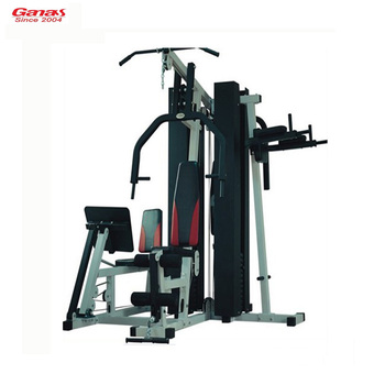 Ganas station multi function home gym equipment strength