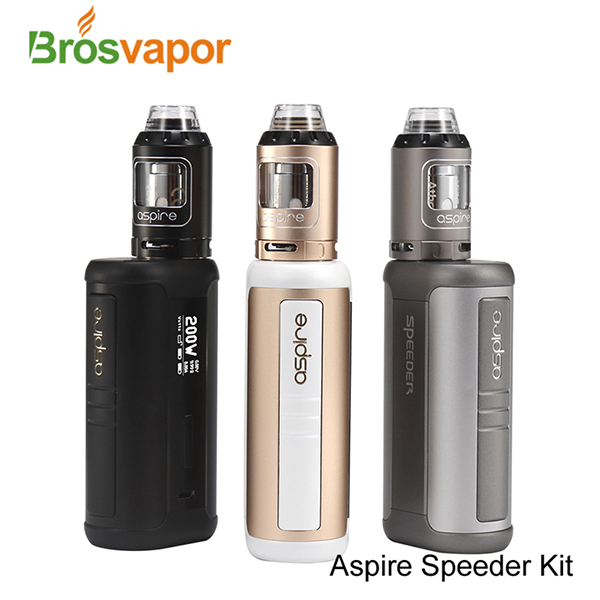 NEW COMING!!!2017 Crazy Hot Aspire Speeder 200W Kit Standard Version , Original Aspire Speeder Kit , 4ml