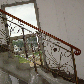 wrought iron gate models Stair iron fence design exterior railing staircase