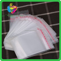 China supplier cheap best quality bopp plastic resealable small packaging bags