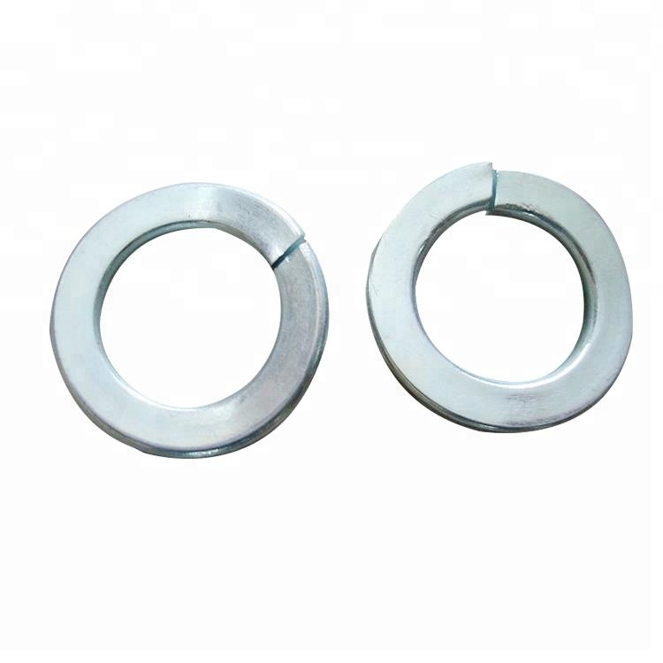 SUS201 Stainless M3 to M20 Spring Washers Split Lock Spring Gasket All Sizes