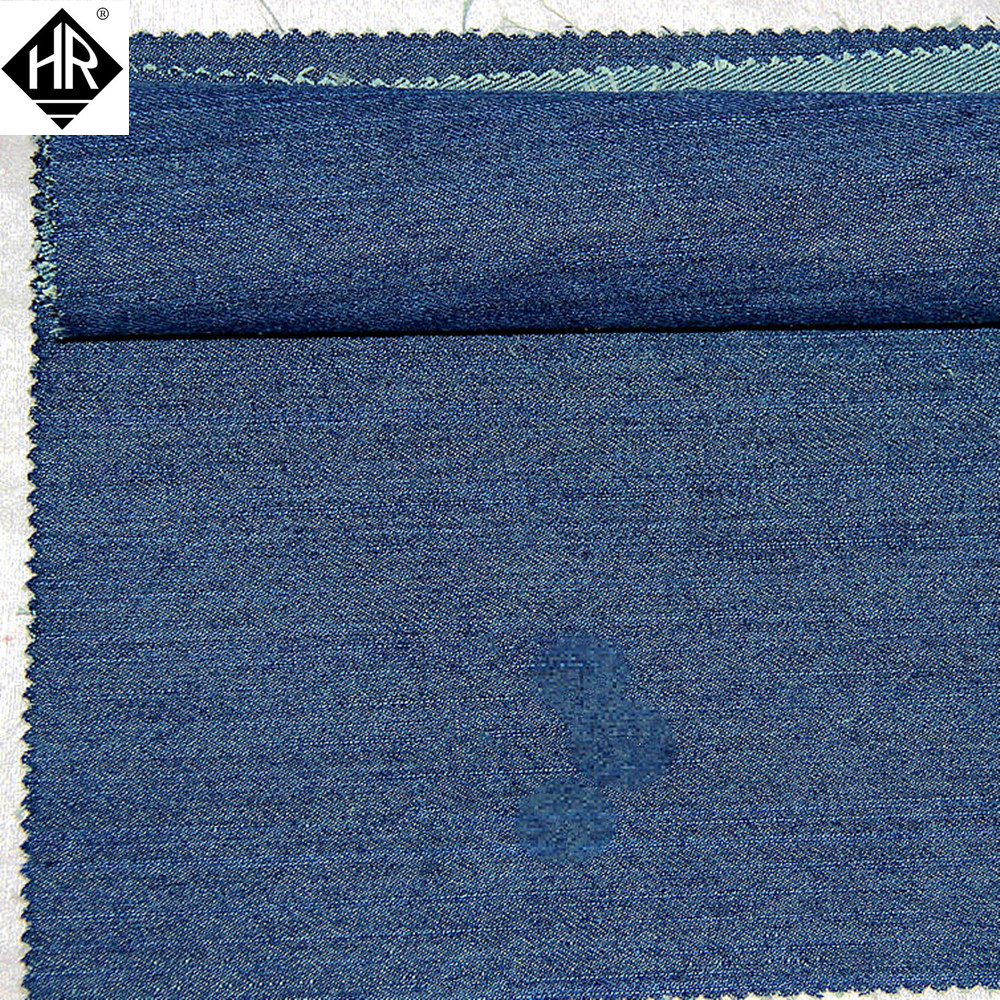 High Tear Strength Abrasion Resistan Para-aramid-Cotton Blended Jeans Fabric