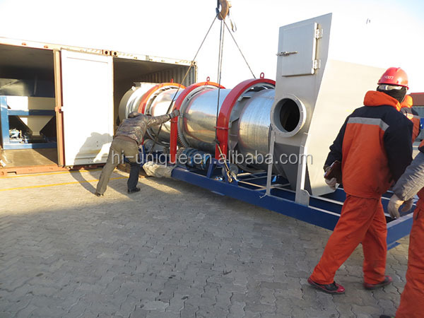 Asphalt Mix Plant and Bitumen hot mixing machine from China