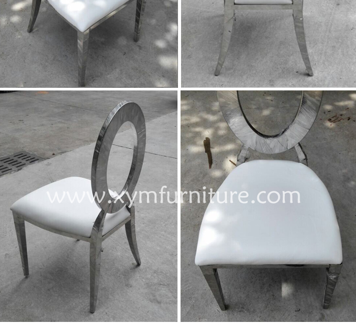 exclusive home furniture stainless steel chair