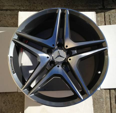 "18"" AMG Style Wheels Staggered Benz Rims"