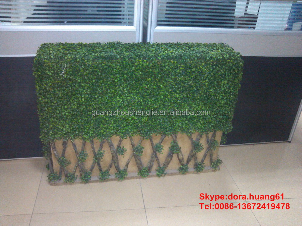sjh112844 boxwood wall artificial hedge fence artificial plants faux