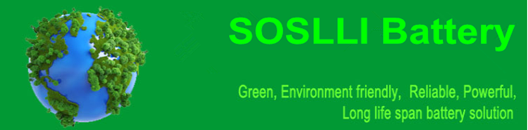 SOSLLI 3S2P 11.1V 5200mAh 18650 lithium ion battery pack