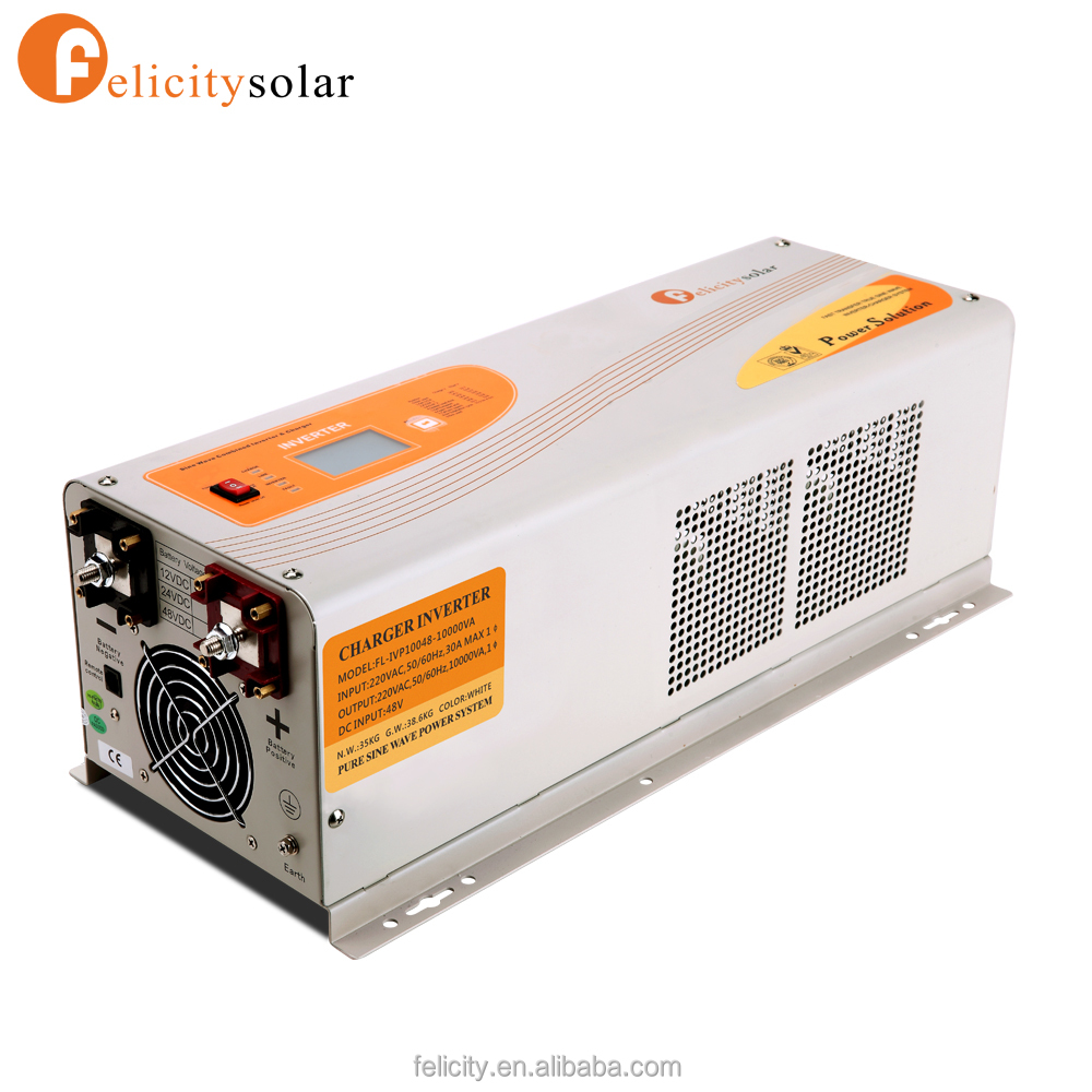48v 10kva Pure Sine Wave DC to AC Solar Inverter with Good Quality Best Price