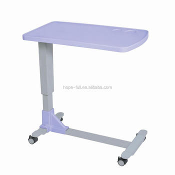Mt01 New Design Height Adjule Movable Overbed Laptop Table Product On