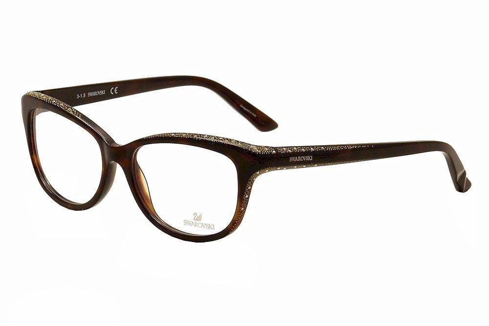 SWAROVSKI SK 5100 Eyeglasses 052 Dark Havana 79133704c6a