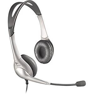Logitech 980125-0403 Stereo USB Headset 200
