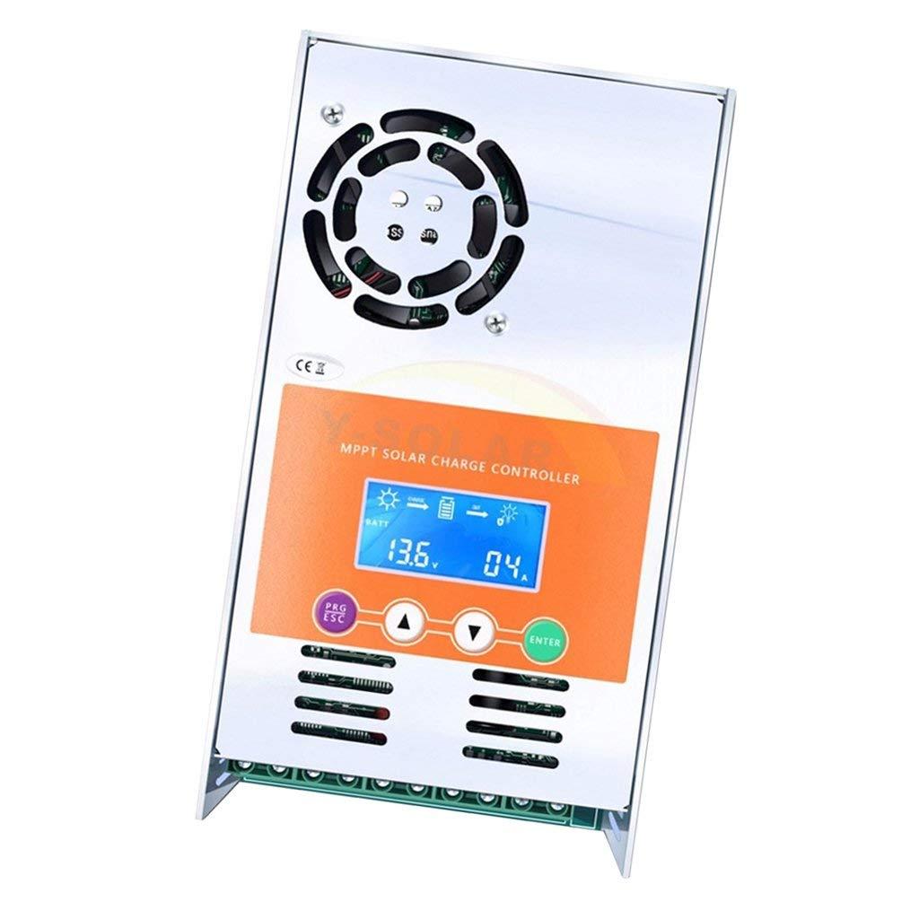 MagiDeal MPPT 12V 24V 36V 48V Solar Charger Controller Solar Panel Battery Intelligent Regulator with LCD Display show, 30A