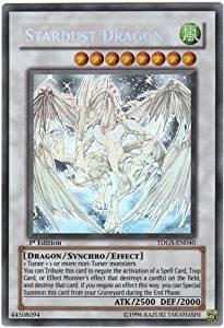 Yu-Gi-Oh! - Stardust Dragon (TDGS-EN040 ) - The Duelist Genesis - 1st Edition - Ghost Rare