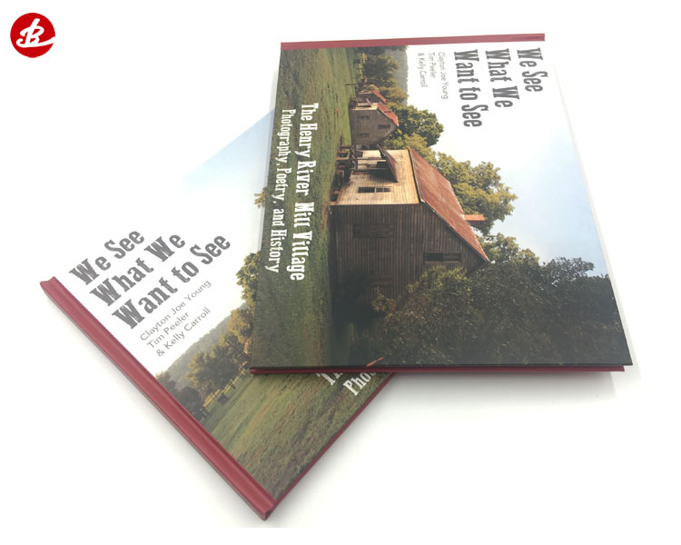 Cheap Price High Quality 4 Color Hardcover Book Printing Services