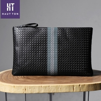 Guangzhou man genuine leather business clutch bag For man