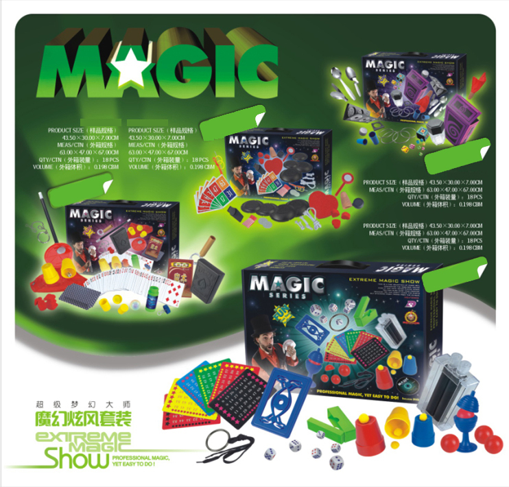 Hot Selling Incredible Magic Toys