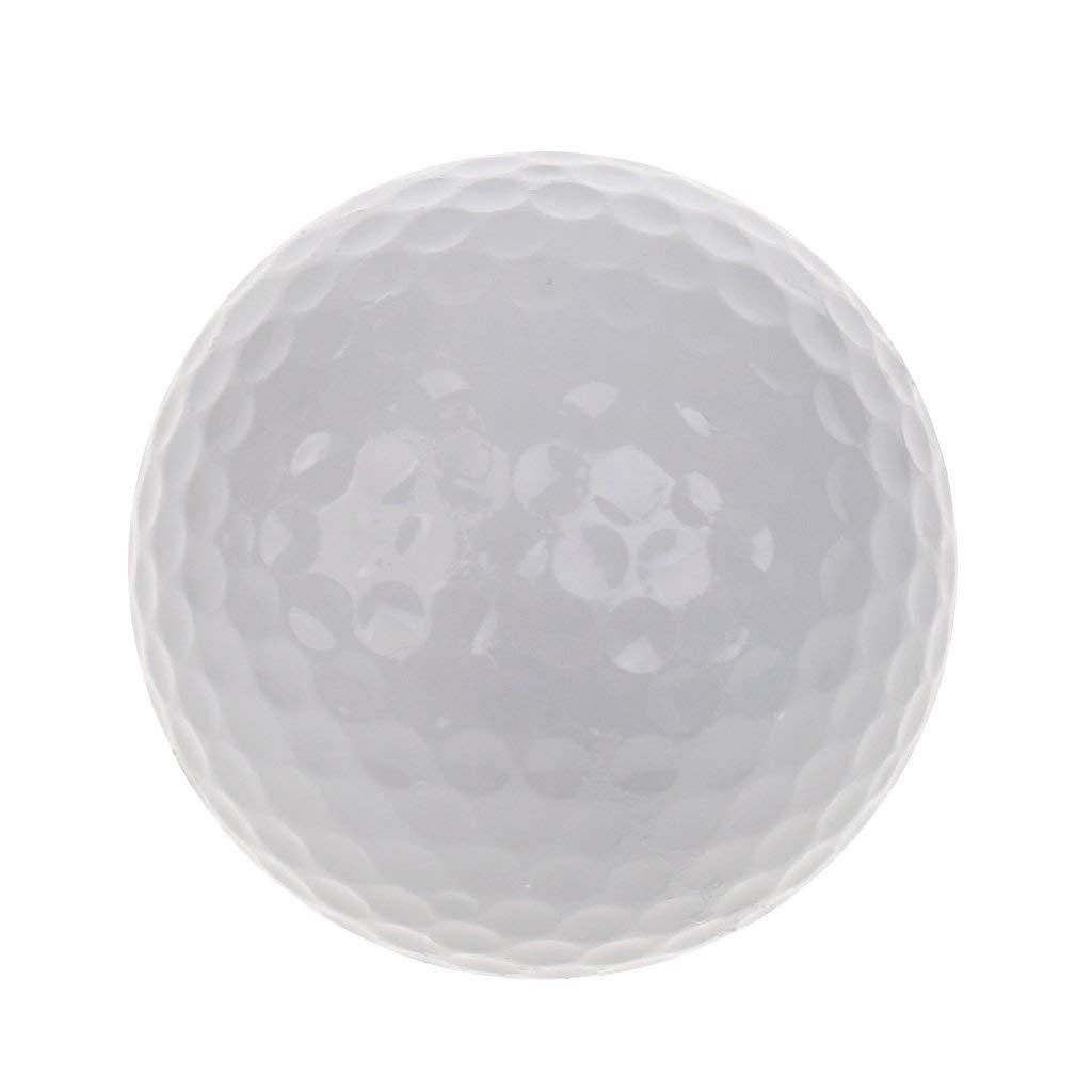 Dovewill Golf Luminous Ball Training Balls Professional Fluorescent Rubber Tournament Ball Golf Gift Accessory