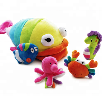 Toys For Infants >> Soft Plush Stuffed 4 Sea Animals Family Model Toy Infants Baby Hand Toy Rattles High Class Boy Girl Gift Buy Soft Plush Stuffed 4 Sea Animals Family