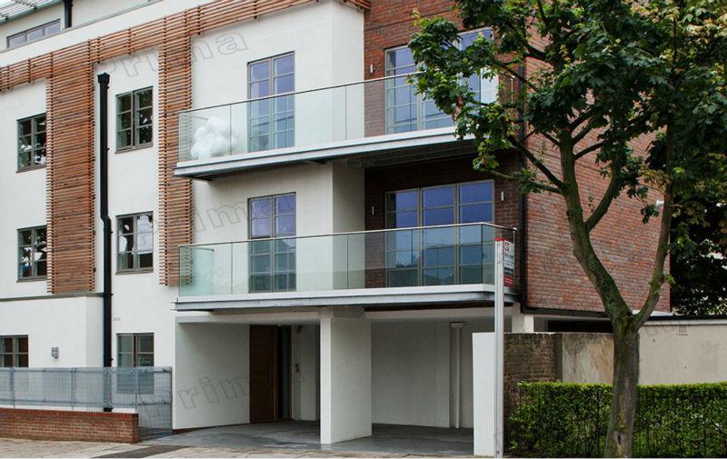 Terrace Glass Railing Designs Balcony Frameless Glass Balustrade