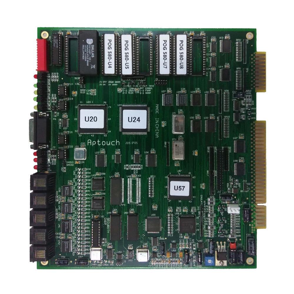 T340 Pog 595  510  580 Version Pcb Game Board