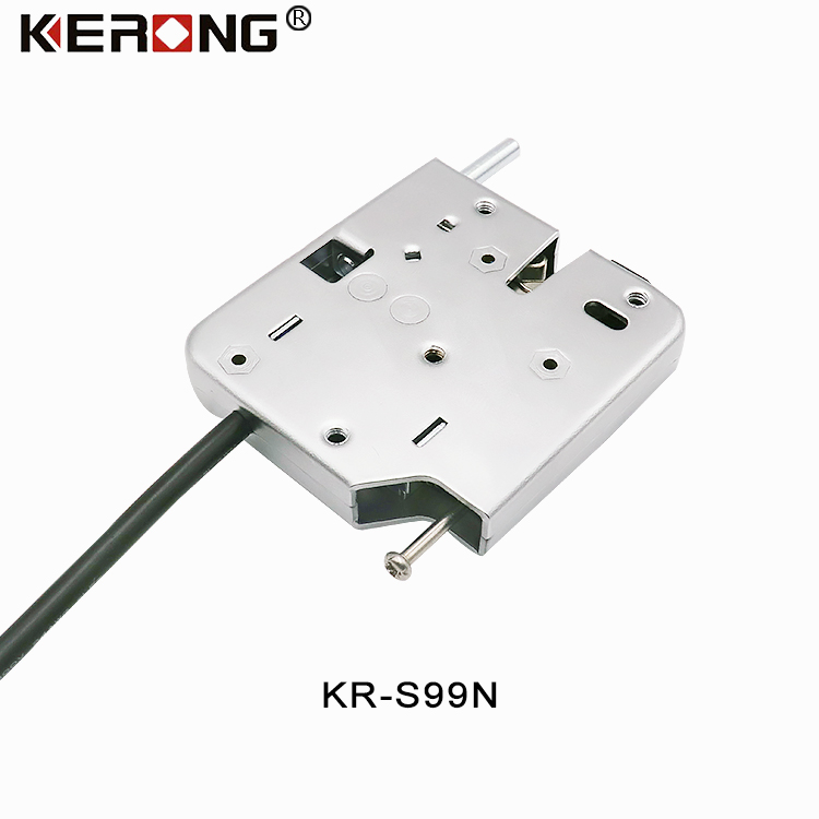 KERONG High Quality Electronic 12V -24V Electromagnetic Rotary Latch Lock For Cabinet Locker