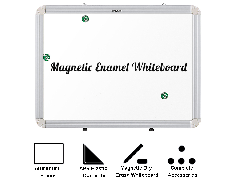 Office School Writing Board Magnetic White Boards / White board With Aluminum Frame