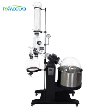 TOPACELAB Professional Intelligent Digital RE-1050 Rotary Evaporator With Double Vertical Condensers