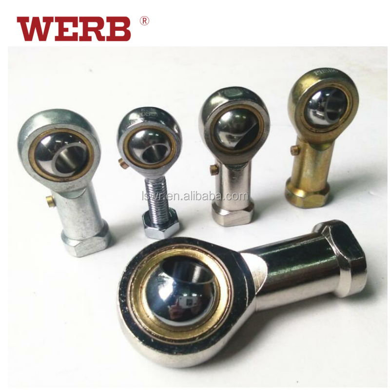 Metric Right Hand Female Thread Connector Rod End Joint Bearing Zinc Plated