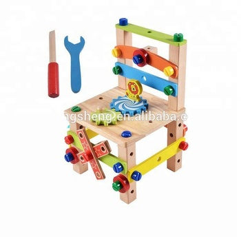 2017 Kids Wooden Tool Set Toys