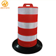 Orange Traffic Barrels / Road Traffic Control Barrel / Plastic Road Safety Barrel