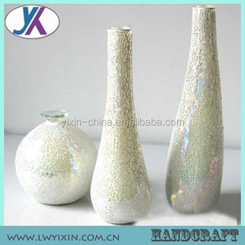 Weding Centerpieces Table Decoration Flower Cracked Glass Vase Buy